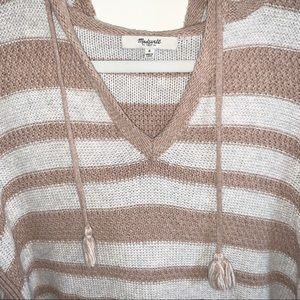 Madewell knit pullover hoodie, size small!